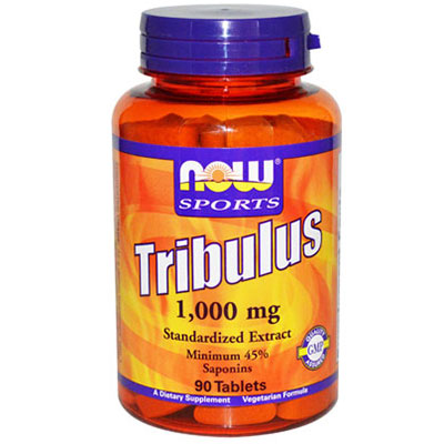 NOW Foods Tribulus 1000mg 45% Extract, 90 Tablets